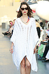 Katerina walks runway in a Douglas Hannant Resort 2012 outfit, on the USS Intrepid, June 7, 2011.