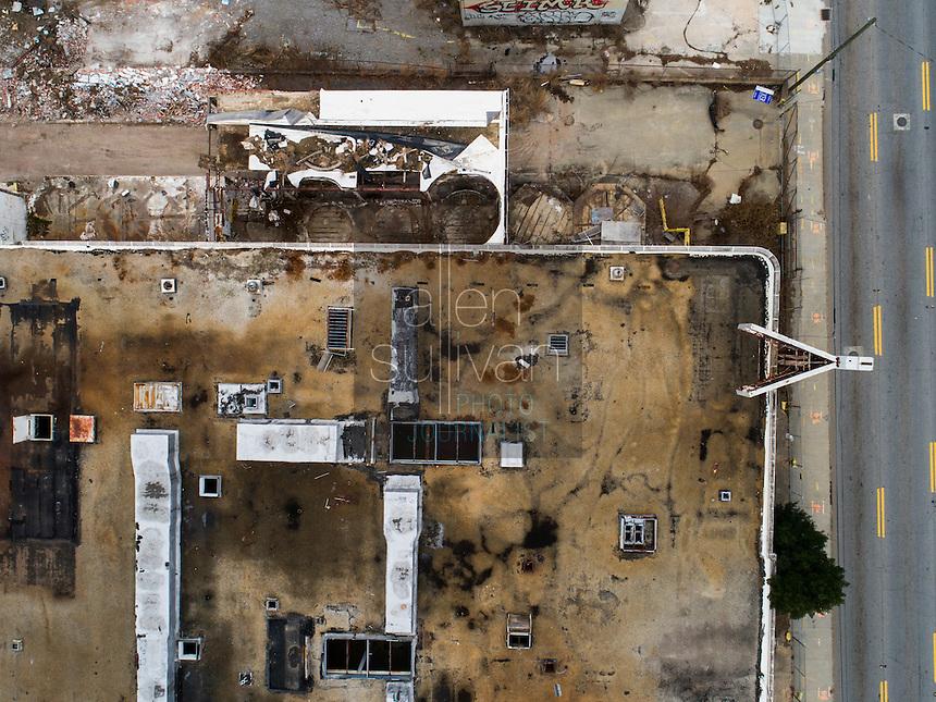 The Atlanta Dairies building on Memorial Drive in Atlanta, Georgia.