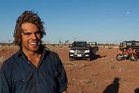 Camel catcher, Central Australia, Northern Territory, Australia.