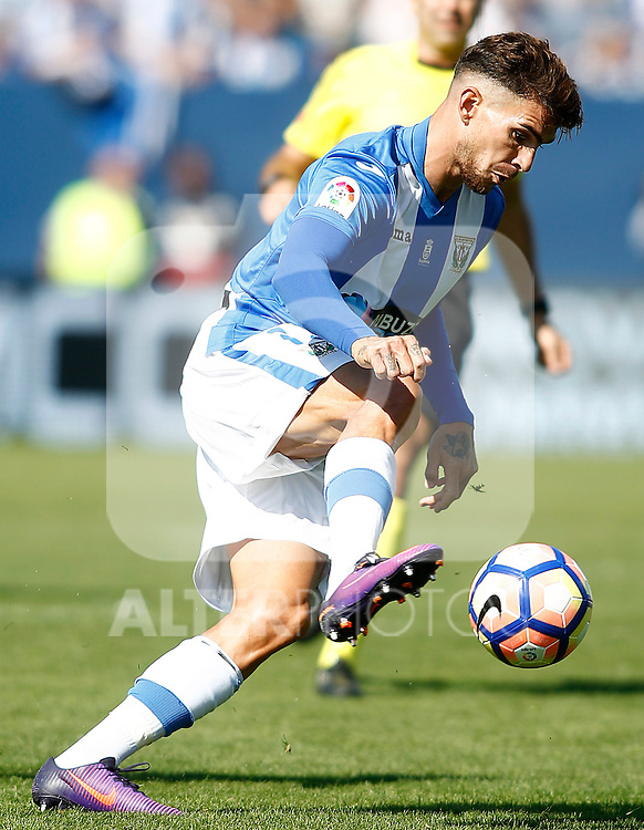 CD Leganes' Carl Madjani during La Liga match. October 15,2016. (ALTERPHOTOS/Acero)