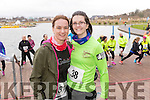 Vivienne Juffs, Mairead Cane, both from Killorglin, who took part in the Valentines 10 mile road race in Tralee, on Sunday morning last.