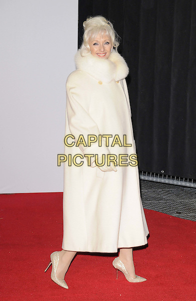 LONDON, ENGLAND - JANUARY 14: Debbie McGee attends the &quot;Kingsman: The Secret Service&quot; world film premiere, Odeon Leicester Square cinema, Leicester Square, on Wednesday January 14, 2015 in London, England, UK. <br /> CAP/CAN<br /> &copy;Can Nguyen/Capital Pictures