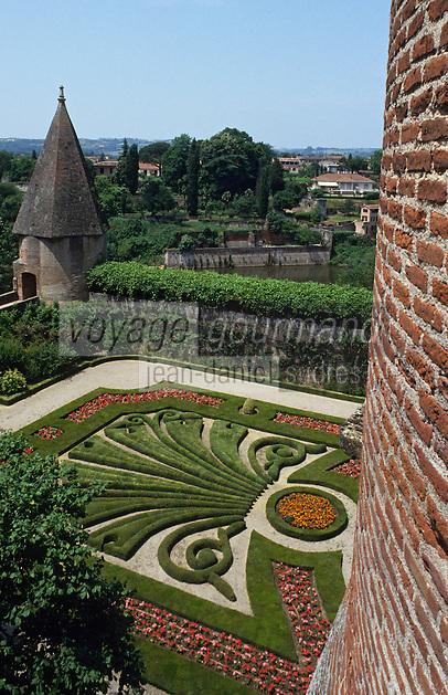 Europe/France/Midi-Pyrénées/81/Tarn/Albi: Les jardins du palais de la Berbie