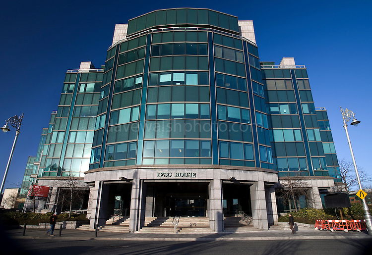 Irish Financial Services Centre House, Dublin - part of the overall IFSC business complex in Dublin's Docklands.