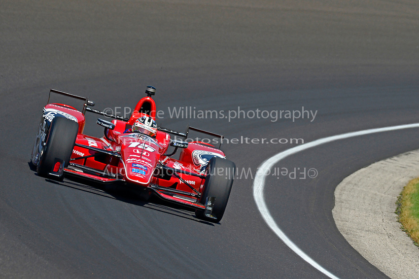Verizon IndyCar Series<br /> Indianapolis 500 Carb Day<br /> Indianapolis Motor Speedway, Indianapolis, IN USA<br /> Friday 26 May 2017<br /> Graham Rahal, Rahal Letterman Lanigan Racing Honda<br /> World Copyright: F. Peirce Williams