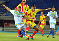 PEREIRA -COLOMBIA -17-02-2014. Deportivo Pereira empató como local ante Jaguares de Códoba por marcador de 1-1 por la fecha 5 del Torneo Postobón 2014 I de Ascenso jugado en el estadio Hernán Ramírez Villegas de las ciudad de Pereira./ Deportivo Pereira tied as a local with Jaguares de Cordoba by score of 1-1 for the fifth date of Postobon Tournament 2014 I played at Hernan Ramirez Villegas stadium in Pereira city.  Photo: VizzorImage/STR