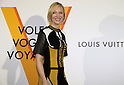"April 21, 2016, Tokyo, Japan - Australian actress Cate Blanchett smiles during a photo call for the reception of Louis Vuitton's art exhibition in Tokyo on Thursday, April 21, 2016. French luxury barnd Luis Vuitton will hold the exhibition ""Volez, Voguez, Voyagez"" in Tokyo from April 23 through June 19.  (Photo by Yoshio Tsunoda/AFLO) LWX -ytd-"