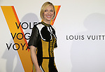 """April 21, 2016, Tokyo, Japan - Australian actress Cate Blanchett smiles during a photo call for the reception of Louis Vuitton's art exhibition in Tokyo on Thursday, April 21, 2016. French luxury barnd Luis Vuitton will hold the exhibition """"Volez, Voguez, Voyagez"""" in Tokyo from April 23 through June 19.  (Photo by Yoshio Tsunoda/AFLO) LWX -ytd-"""