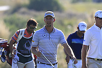 Marcel Siem (GER) walks to the 13th green during Thursday's Round 1 of the 2016 Portugal Masters held at the Oceanico Victoria Golf Course, Vilamoura, Algarve, Portugal. 19th October 2016.<br /> Picture: Eoin Clarke | Golffile<br /> <br /> <br /> All photos usage must carry mandatory copyright credit (&copy; Golffile | Eoin Clarke)