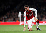 Arsenal's Olivier Giroud looks on dejected during the Carabao cup match at the Emirates Stadium, London. Picture date 20th September 2017. Picture credit should read: David Klein/Sportimage