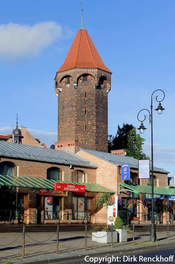 Jacek-Turm (Baszta Jacek) in Danzig (Gdansk), Woiwodschaft Pommern (Wojew&oacute;dztwo pomorskie), Polen, Europa<br /> Jacektower in Gdansk, Poland, Europe