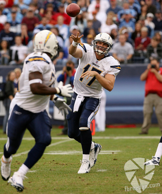 The Tennessee Titans host the San Diego Chargers at LP Field on December 9, 2007. The Chargers defeated the Titans in overtime 23-17. (Photo by Frederick Breedon)
