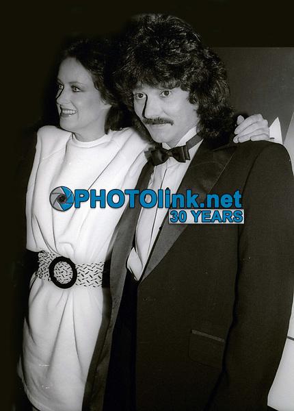 Grace Slick and Mickey Thomas 1983<br /> Photo By John Barrett/PHOTOlink