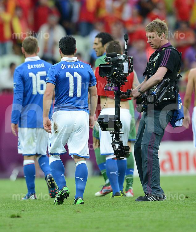 FUSSBALL  EUROPAMEISTERSCHAFT 2012   VORRUNDE Spanien - Italien            10.06.2012 Im Fokus: Antonio Di Natale (Italien)