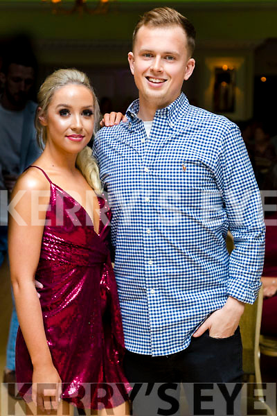 Laura Flaherty and Aaron O'Shea at the John Mitchels GAA 'Strictly Come Dancing' at Ballygarry House Hotel on Sunday night.