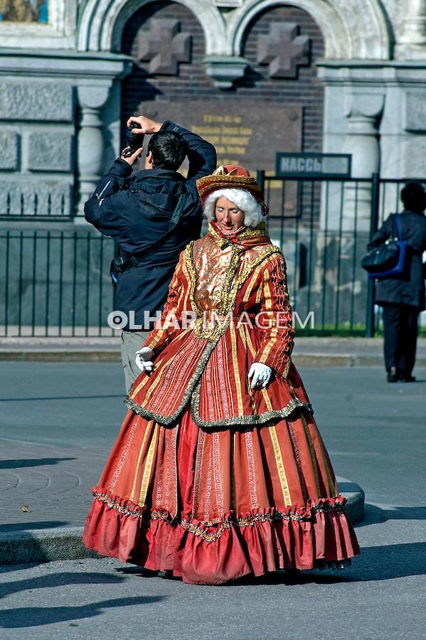 Representação de Czares em São Petersburgo. Russia. 2008. Foto de Cris Berger.