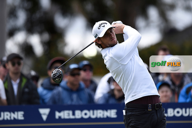 Thomas Pieters (BEL) during the 3rd round of the World Cup of Golf, The Metropolitan Golf Club, The Metropolitan Golf Club, Victoria, Australia. 24/11/2018<br /> Picture: Golffile | Anthony Powter<br /> <br /> <br /> All photo usage must carry mandatory copyright credit (© Golffile | Anthony Powter)