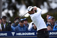 Thomas Pieters (BEL) during the 3rd round of the World Cup of Golf, The Metropolitan Golf Club, The Metropolitan Golf Club, Victoria, Australia. 24/11/2018<br /> Picture: Golffile | Anthony Powter<br /> <br /> <br /> All photo usage must carry mandatory copyright credit (&copy; Golffile | Anthony Powter)