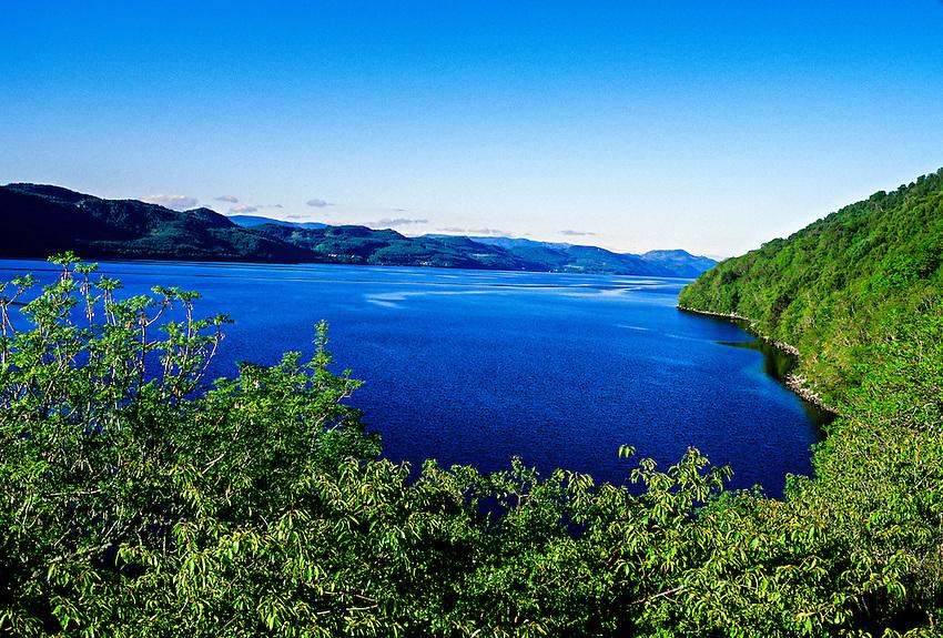 Loch Ness,near Drumnadrochit, Scottish Highlands, Scotland