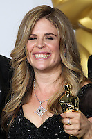 HOLLYWOOD, LOS ANGELES, CA, USA - MARCH 02: Jennifer Lee at the 86th Annual Academy Awards - Press Room held at Dolby Theatre on March 2, 2014 in Hollywood, Los Angeles, California, United States. (Photo by Xavier Collin/Celebrity Monitor)