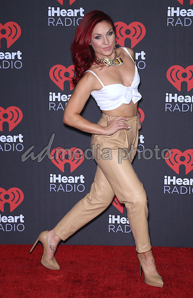 23 September 2016 - Las Vegas, NV -  Sharna Burgess.  2016 iHeart Radio Music Festival Photo Room at T-Mobile Arena.  Photo Credit: MJT/AdMedia
