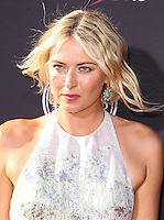 LOS ANGELES, CA - JULY 17: Maria Sharapova attends the ESPY Awards 2013 held at Nokia Theatre L.A. Live on July 17, 2013 in Los Angeles, California. (Photo by Celebrity Monitor)