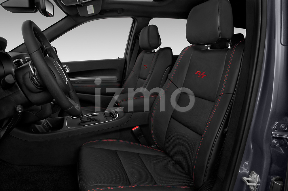 Front seat view of a 2018 Dodge Durango R/T 5 Door SUV front seat car photos