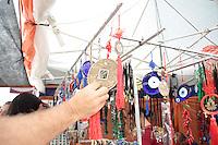 SAO PAULO, SP - 12.03.2016 - FESTIVAL-SP - Vista da décima edição do Nikkey Matsuri realizado no Memorial da América Latina, zona oeste da capita neste sábado, 13. O tradicional festival de cultura japonesa organizado por sete entidades japonesas da cidade de São Paulo apresentando o melhor da cultura e gastronomia nipônica neste sábado e domingo (13) com entrada gratuita.<br /> (Foto: Fabricio Bomjardim/Brazil Photo Press)