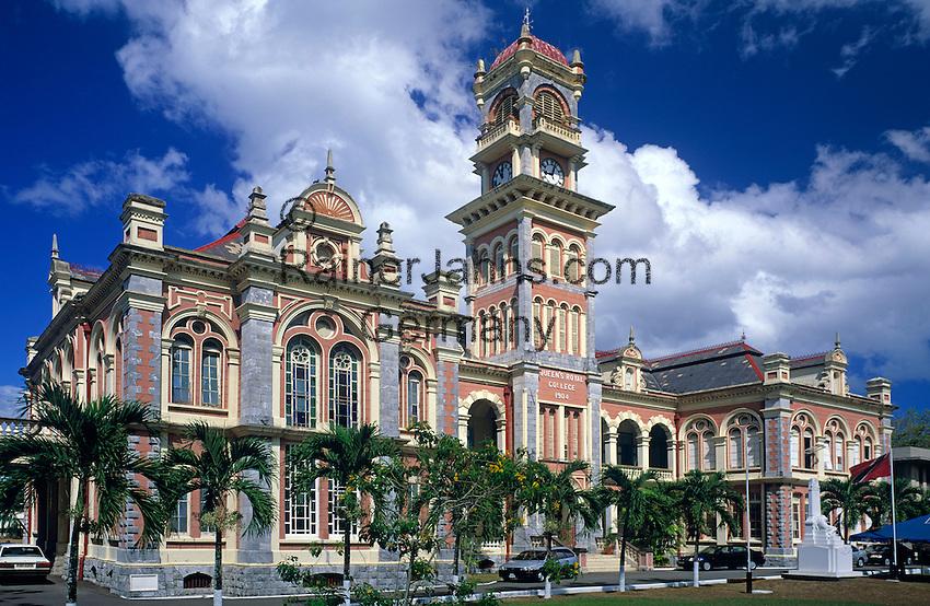 Trinidad & Tobago, Trinidad, Port of Spain: Queen's Royal College