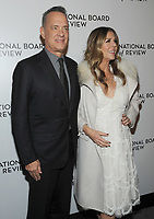 NEW YORK, NY - JANUARY 09: Tom Hanks and Rita Wilson attends the 2018 National Board Of Review Awards Gala at Cipriani 42nd Street on January 9, 2018 in New York City.  <br /> CAP/MPI/JP<br /> &copy;JP/MPI/Capital Pictures