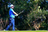 Andy Sullivan (ENG) 3rd shot on the 2nd fairway during the final round at the WGC HSBC Champions 2018, Sheshan Golf CLub, Shanghai, China. 28/10/2018.<br /> Picture Fran Caffrey / Golffile.ie<br /> <br /> All photo usage must carry mandatory copyright credit (&copy; Golffile | Fran Caffrey)