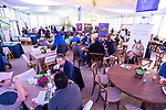 November 1, 2018: Scenes from the Trackside Breakfast Marquee during morning workouts in preparations for the Breeders' Cup at Churchill Downs on November 1, 2018 in Louisville, Kentucky. Scott Serio/Eclipse Sportswire/CSM