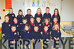 PUPILS: Junior Infants on their first day at Listellick National School on Tuesday.... ....