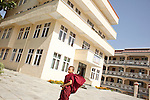 Kopan Monastery in Kathmandu, the only monaster in the world with a clinic inside..june 2010