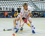 Almere - Zaalhockey  Amsterdam-Den Bosch (m) . Robert Tigges (A'dam)   TopsportCentrum Almere.    COPYRIGHT KOEN SUYK