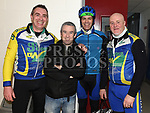 Conor McCabe, Peter Beckton, Colin O'Connor and Benner Maguire who took part in the Duleek Parish School cycle. Photo:Colin Bell/pressphotos.ie