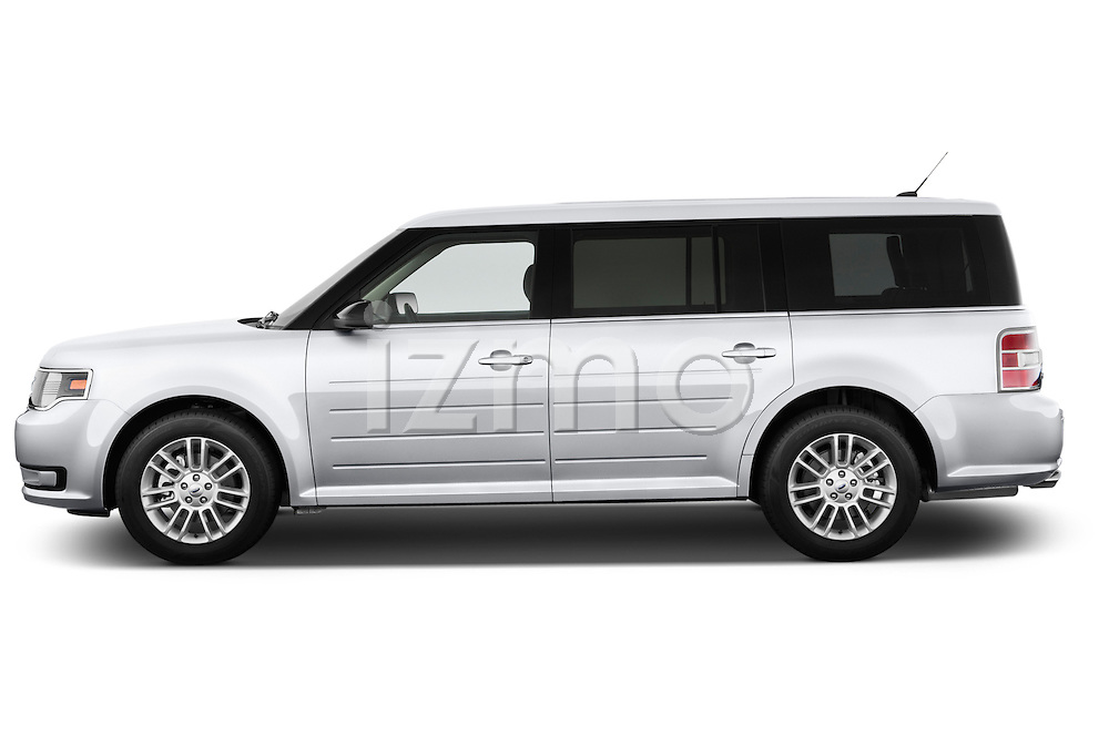 Driver side profile view of a .2013 Ford Flex SEL