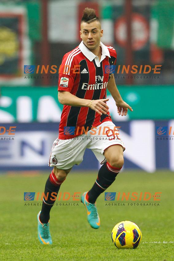 Stephan El Shaarawy Milan.Milano 06/01/2013 Stadio San Siro.Football Calcio 2012/2013 Serie A.Milan vs Siena 2-1.Foto  Insidefoto