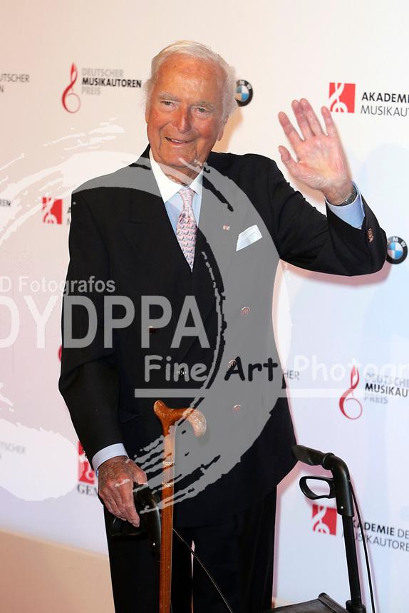 Martin Böttcher bei der Verleihung des Deutschen Musikautorenpreises 2015 im Hotel Ritz Carlton. Berlin, 21.05.2015