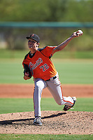 San Francisco Giants pitcher Nick Deeg (72) during an Instructional League game against the Chicago White Sox on October 10, 2016 at the Camelback Ranch Complex in Glendale, Arizona.  (Mike Janes/Four Seam Images)