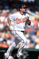 Baltimore Orioles infielder J.J. Hardy (2) during a Spring Training game against the Detroit Tigers on March 4, 2015 at Ed Smith Stadium in Sarasota, Florida.  Detroit defeated Baltimore 5-4.  (Mike Janes/Four Seam Images)