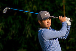 Miguel Tabuena of Philippines tees off the 15th hole during the 58th UBS Hong Kong Golf Open as part of the European Tour on 09 December 2016, at the Hong Kong Golf Club, Fanling, Hong Kong, China. Photo by Marcio Rodrigo Machado / Power Sport Images