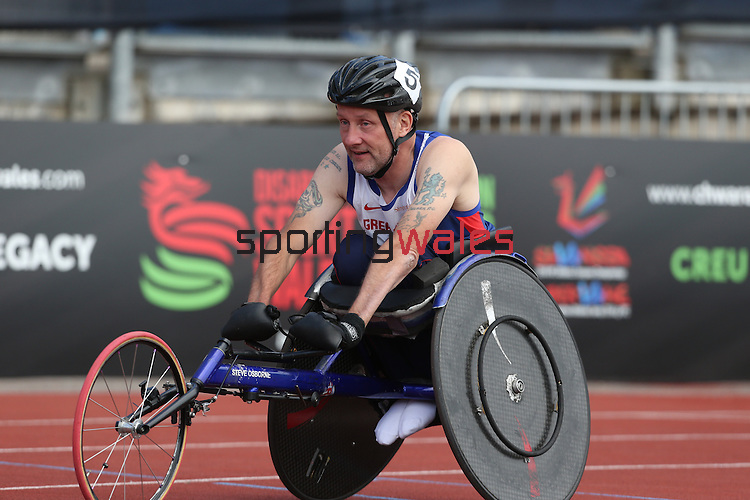 IPC European Athletics Championship 2014<br /> Stephen Osborne GBR<br /> Men's 100m T51<br /> Swansea University<br /> 20.08.14<br /> &copy;Steve Pope-SPORTINGWALES