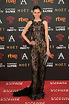 Yolanda Font attends 30th Goya Awards red carpet in Madrid, Spain. February 06, 2016. (ALTERPHOTOS/Victor Blanco)