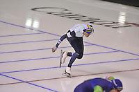 SPEEDSKATING: CALGARY: 15-11-2015, Olympic Oval, ISU World Cup, Bart Swings (BEL), ©foto Martin de Jong