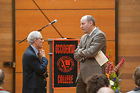 The Occidental College Alumni Association Awards Assembly during Reunion Weekend 2009 at Occidental College in Los Angeles, Calif. on June 13, 2009. (Photo by Marc Campos, Occidental College Photographer)