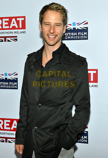 28 February 2014 - Los Angeles, California - Chesney Hawkes. GREAT British Film Reception to honor the British Oscar nominees, hosted by Consul General Chris O'Connor at the British Residence. <br /> CAP/ADM/CC<br /> &copy;CC/AdMedia/Capital Pictures