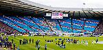 Rangers fans display