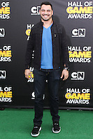 SANTA MONICA, CA, USA - FEBRUARY 15: Joseph Fauria at the 4th Annual Cartoon Network Hall Of Game Awards held at Barker Hangar on February 15, 2014 in Santa Monica, California, United States. (Photo by David Acosta/Celebrity Monitor)