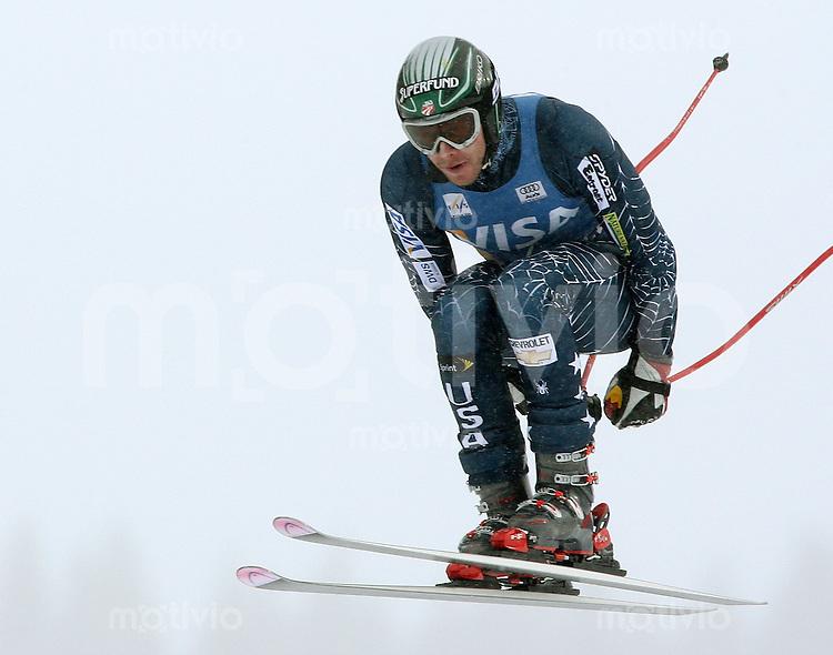 Ski Alpin; Saison 2006/2007   Training Herren Bode Miller (USA)